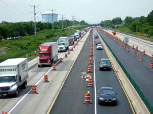 Illinois I-90 resurfacing