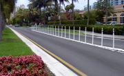 Mountable Raised Curb System