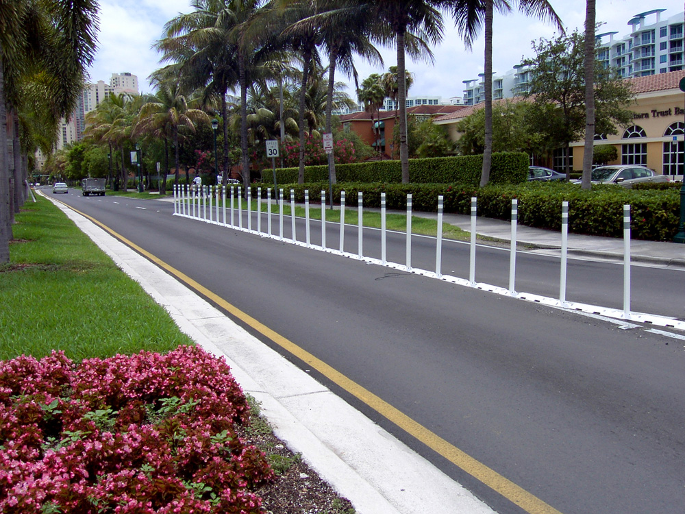 Mountable Raised Curb System Roadsafe Traffic Systems Inc