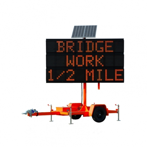 All LED Message Sign