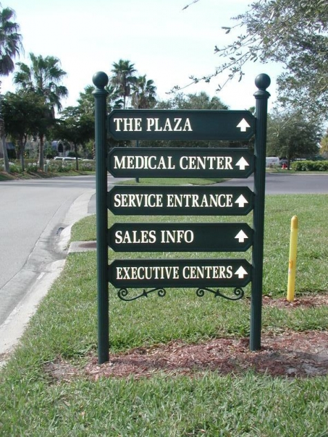 Directional and Informational Sign